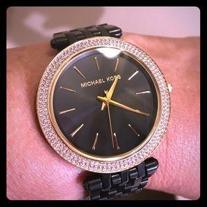 🌺🌺 Michael Kors Black Watch 🌺🌺